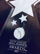 Winner 2017 National StartUp